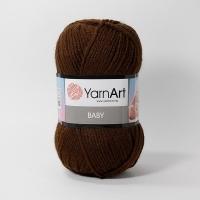 Пряжа YarnArt Baby (1082 коричневый)