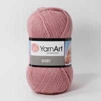 Пряжа YarnArt Baby (3017 пыльная роза)