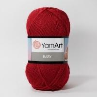 Пряжа YarnArt Baby (3024 красный)