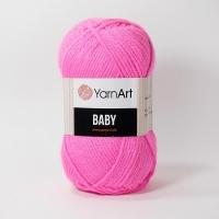 Пряжа YarnArt Baby (174 розовый неон)