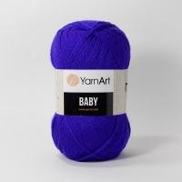 Пряжа YarnArt Baby (203 электрик)