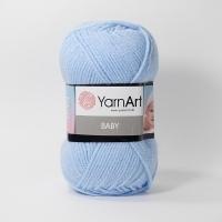 Пряжа YarnArt Baby (215 голубой)