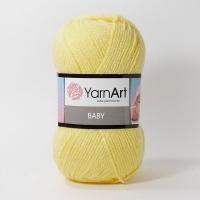 Пряжа YarnArt Baby (315 желтый)