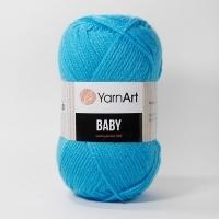 Пряжа YarnArt Baby (552 бирюзовый)
