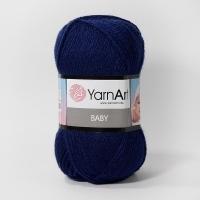 Пряжа YarnArt Baby (583 т.синий)