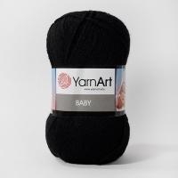 Пряжа YarnArt Baby (585 черный)