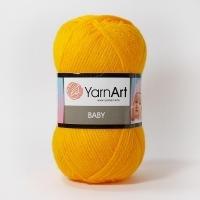 Пряжа YarnArt Baby (586 т.желтый)