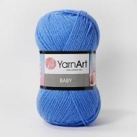 Пряжа YarnArt Baby (600 т.голубой)