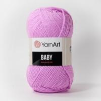 Пряжа YarnArt Baby (635 ярко-розовый)