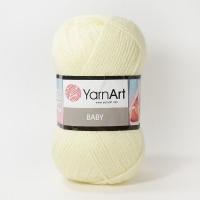 Пряжа YarnArt Baby (7003 кремовый)