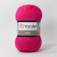 Пряжа YarnArt Baby (8041 фуксия)