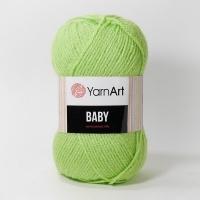 Пряжа YarnArt Baby (13854 салатовый)