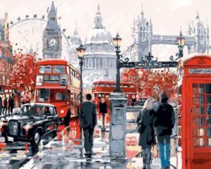 Картина по номерам GX8362 Лондонская суета