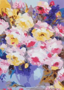 Картина по номерам MG3126 Многоцветье