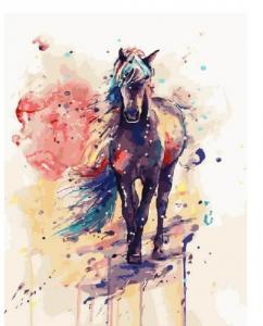 Картина по номерам GX3488 Волшебный конь