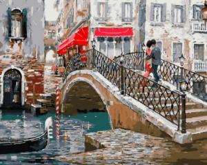 Картина по номерам GX8363 Венецианский мостик