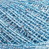 Пряжа YarnArt Camellia (417 голубой-серебро)