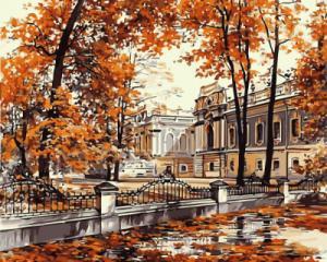 Картина по номерам GX8085 Мариинский дворец