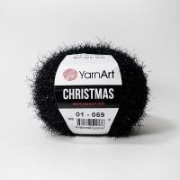 Пряжа YarnArt Christmas (01 черный)