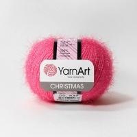 Пряжа YarnArt Christmas (09 ярко-розовый)