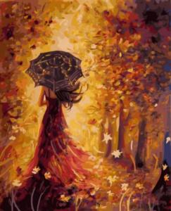 Картина по номерам GX5582 Осенняя фея