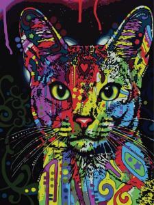 Картина по номерам ME1006 Кошка поп-арт