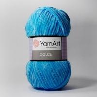 Пряжа YarnArt Dolce (758 бир. голубой)