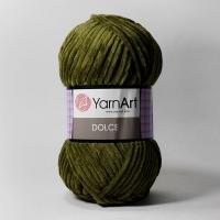 Пряжа YarnArt Dolce (772 болотный)