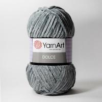 Пряжа YarnArt Dolce (760 стальной)