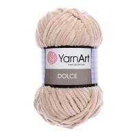 Пряжа YarnArt Dolce (771 розово-бежевый)