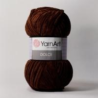 Пряжа YarnArt Dolce (775 коричневый)