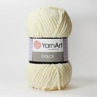 Пряжа YarnArt Dolce (783 молочный)
