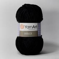 Пряжа YarnArt Dolce (742 черный)