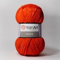Пряжа YarnArt Dolce (748 красный)