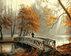 Картина по номерам GX8156 На мосту