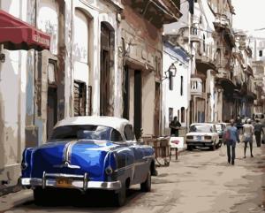 Картина по номерам MG2043 Старая Гавана