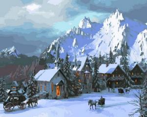 Картина по номерам GX30722 Снежное королевство
