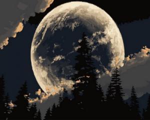 Картина по номерам GX30850 Сказочная луна