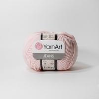 Пряжа YarnArt Jeans (74 нежно-розовый)