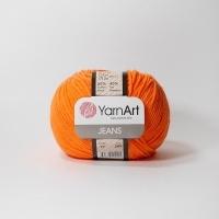 Пряжа YarnArt Jeans (77 оранжевый)