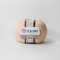 Пряжа YarnArt Jeans (73 персиковый)