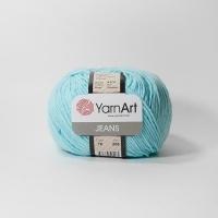 Пряжа YarnArt Jeans (76 небесно-голубой)