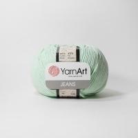Пряжа YarnArt Jeans (79 мятный)