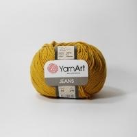 Пряжа YarnArt Jeans (84 горчица)