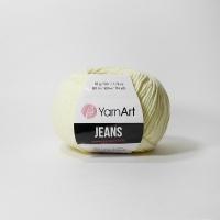 Пряжа YarnArt Jeans (86 кремовый)