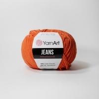 Пряжа YarnArt Jeans (85 ярко-терракотовый)