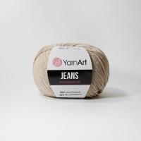Пряжа YarnArt Jeans (87 св.бежевый)