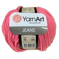 Пряжа YarnArt Jeans (78 розовый)