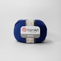 Пряжа YarnArt Jeans (54 т.синий)
