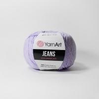 Пряжа YarnArt Jeans (89 пастельно-лиловый)